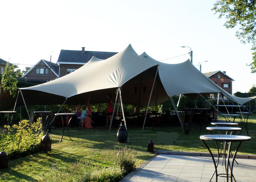 Artimara stretchtent - Tent voor terras ...