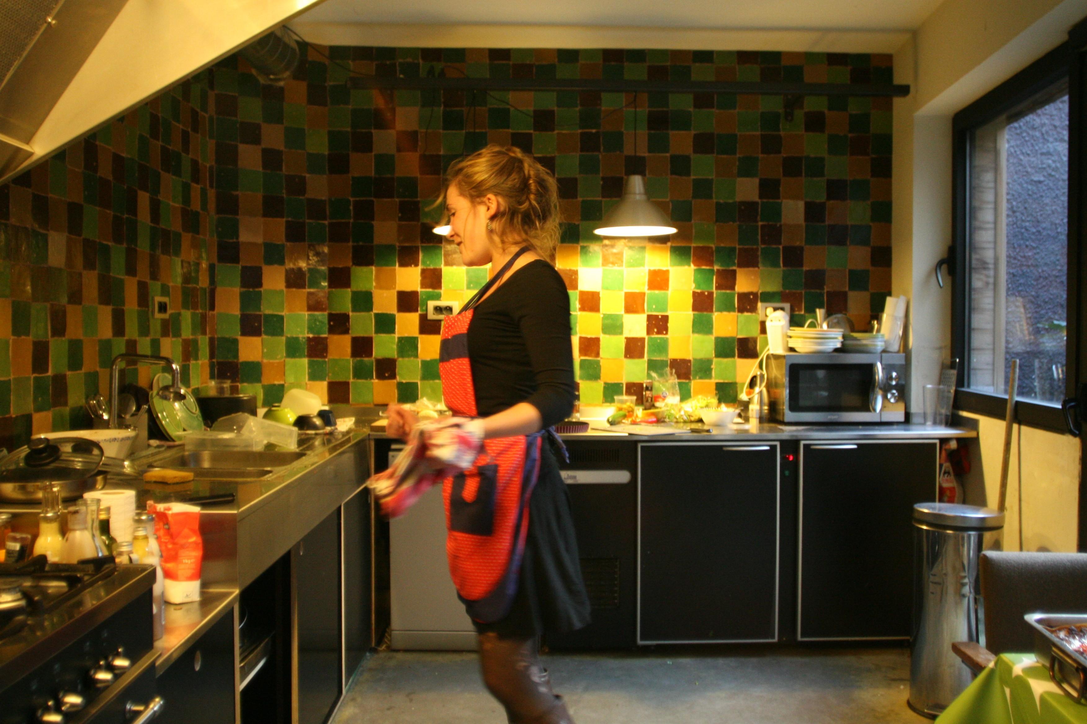 Marokkaanse Zelliges Keuken : Marokkaanse Zelliges Keuken : SMUK food in Leuven Open keuken